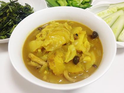 キャベツとジャガイモのカレー煮④.JPG