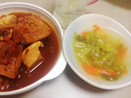 チキンのトマト煮⑪.JPG