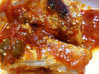 チキンのトマト煮⑫.JPG