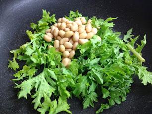 納豆とからし菜の卵煮.JPG