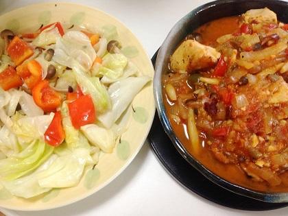 パプリカ・チキンのトマト煮②.JPG