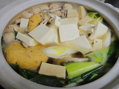 三種の湯豆腐②.JPG