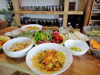 イタリアン野菜パスタ⑥.JPG