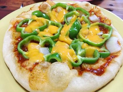 フライパンで作ったピザ2.JPG